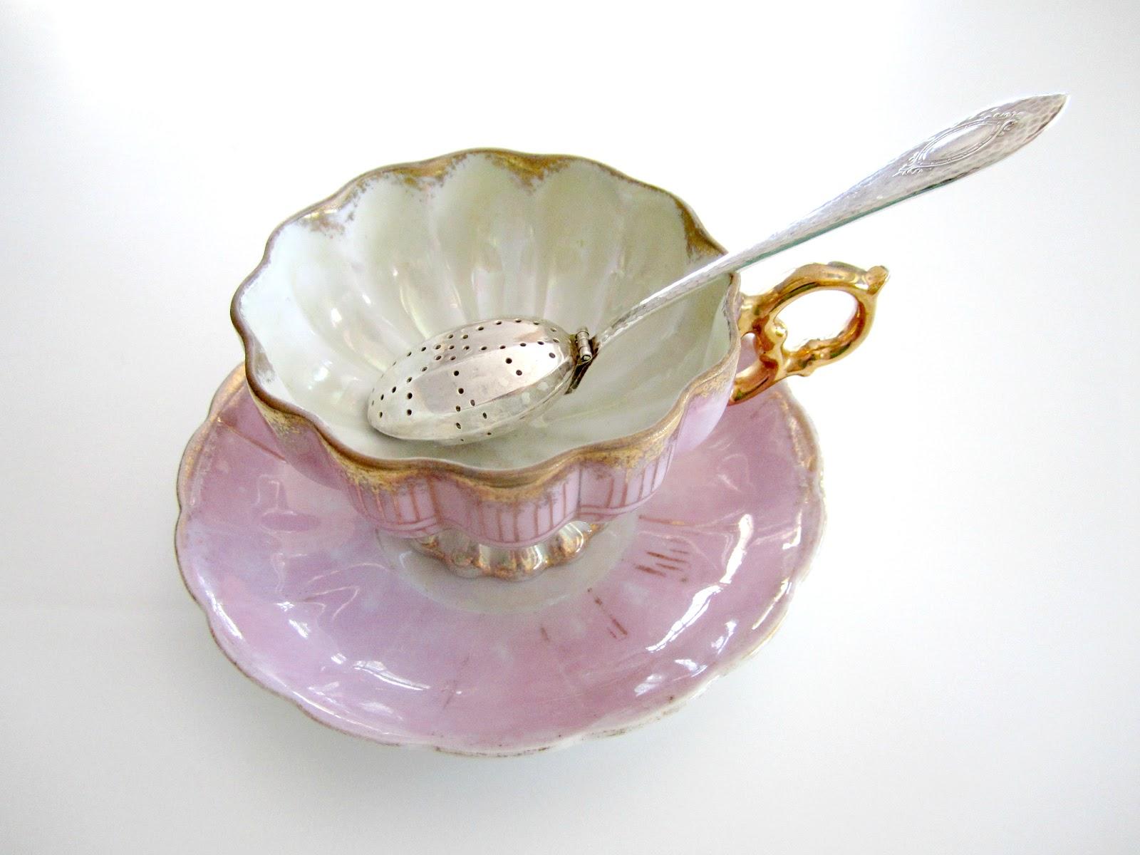 Teaspoon Tea Infuser with Tea Cup