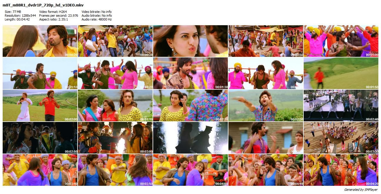Mat Maari DVDRip Video Song 720P HD