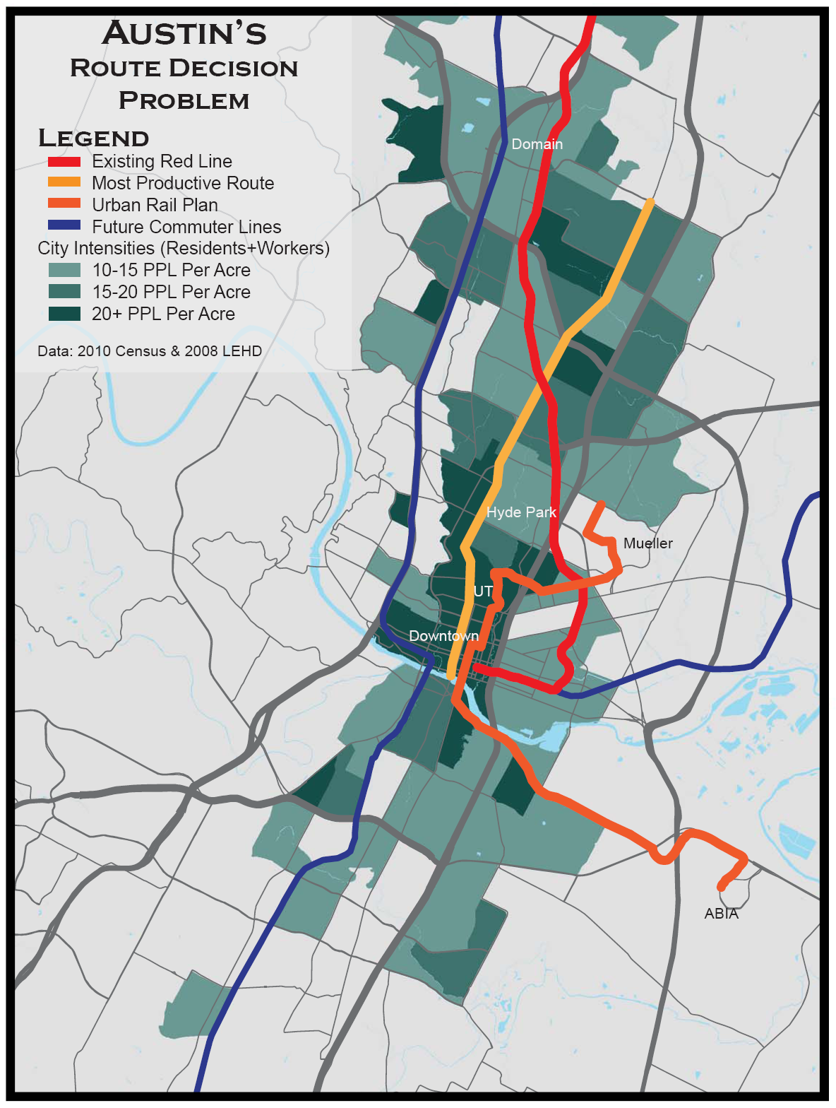 Elevation Wood Density : What do you think has been the least successful transit