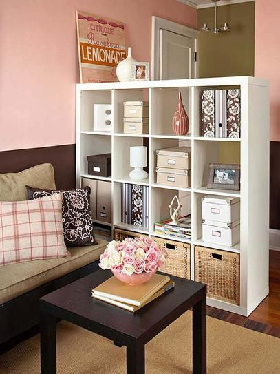 7 ideas para separar ambientes en el sal n - How decorate small apartment ...
