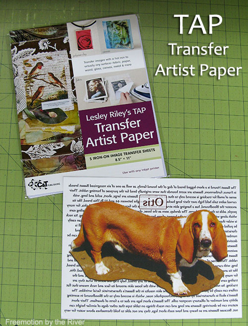 TAP Transfer Paper from C&T Publishing #TAPProject