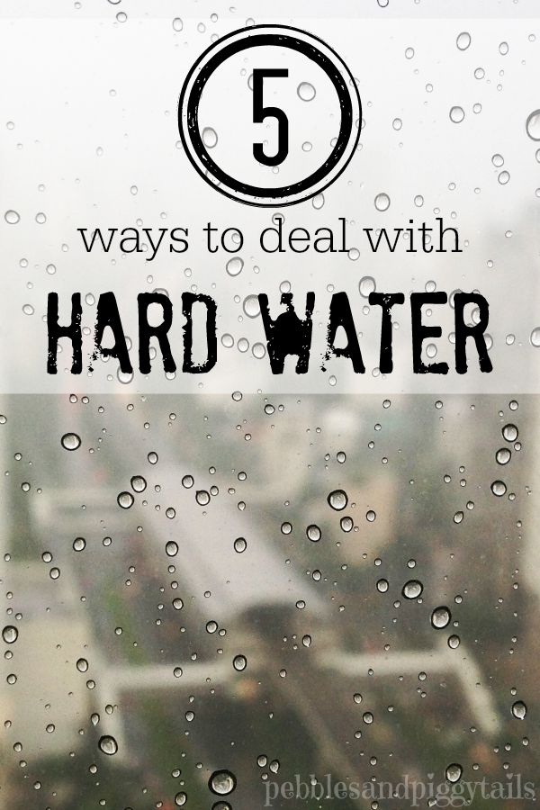 5 Solutions for dealing with Hard Water Stains - PurSolutions Online ...
