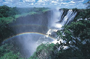 And Note That The I Is Silent Is A Waterfall Located In Southern Africa On The Zambezi River Between The Countries Of Zambia And Zimbabwe