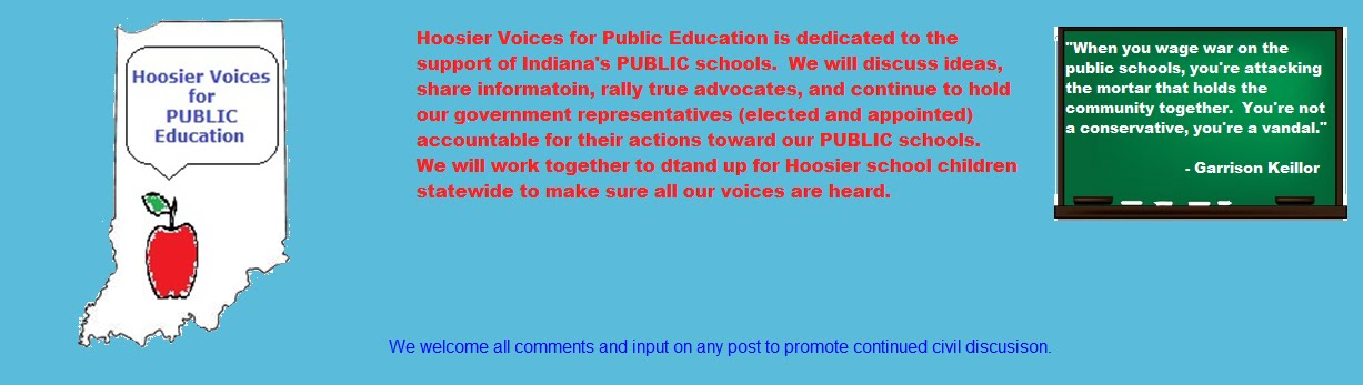 HOOSIER VOICES FOR PUBLIC EDUCATION