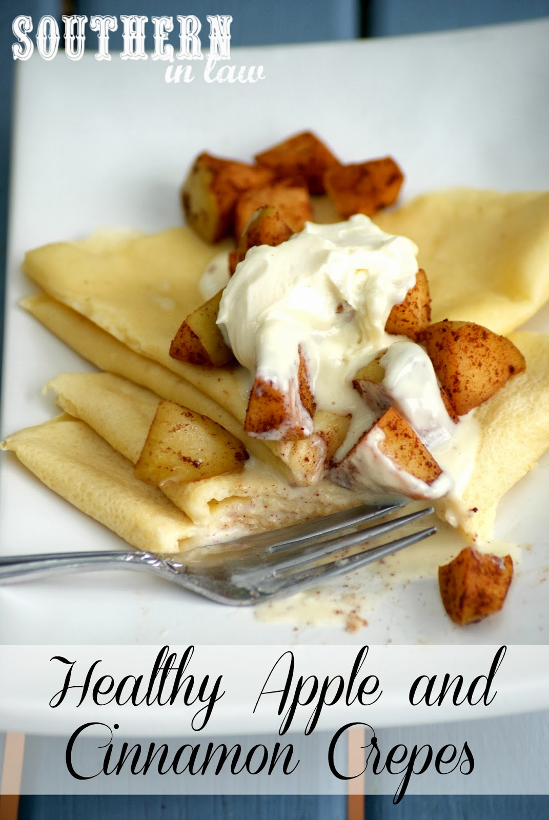 Healthy Apple and Cinnamon Crepes Recipe