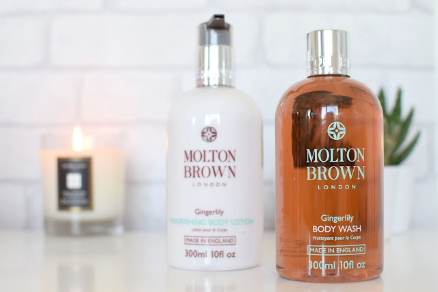 Molton Brown Heavenly Gingerlily Bodycare Review