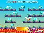 Thỏ bắt cá, chơi game vui nhộn online