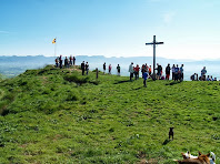 El cim del Turó de la Creu de Gurb
