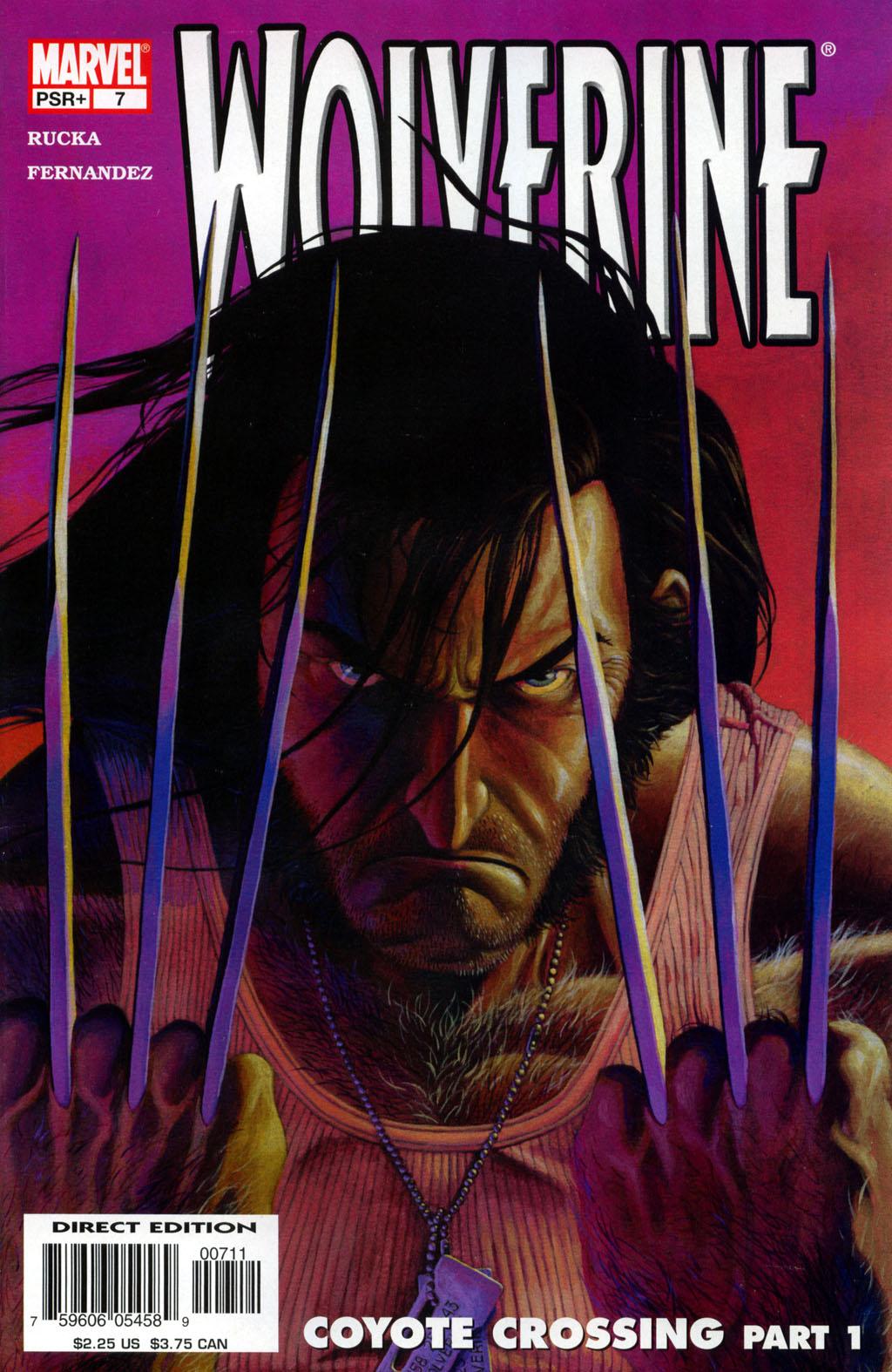 Read online Wolverine (2003) comic -  Issue #7 - 1