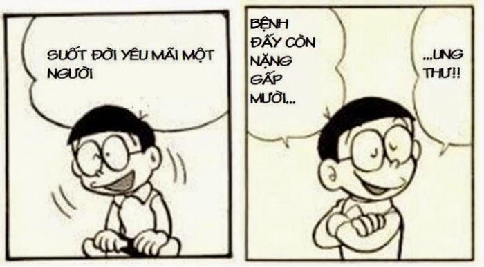 Nobita dạy không nên yêu
