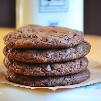 Baked New England : Mocha Almond Toffee Cookies (Originally posted in March 2012)