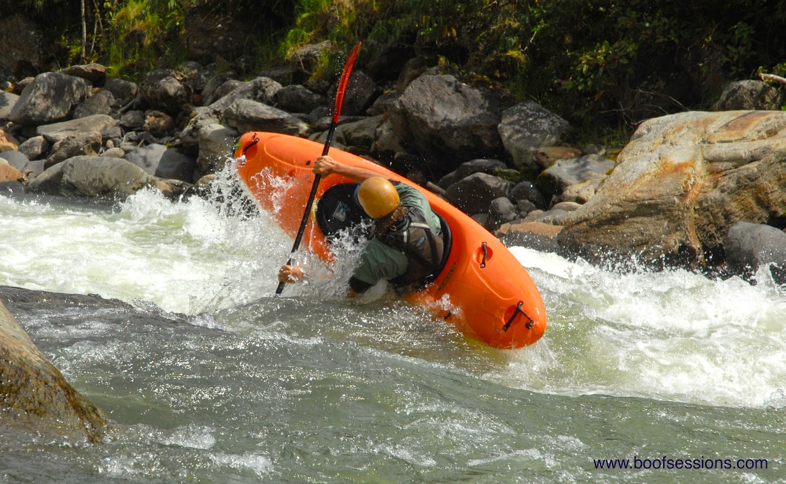 The Bridge To Is A Good Warm Up For Cheese House Solid Class IV Rapids With Continuous Characteristics And Awesome Boofs