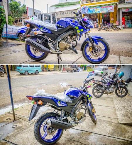 gambar Yamaha Vixion Livery MotoGP 2015