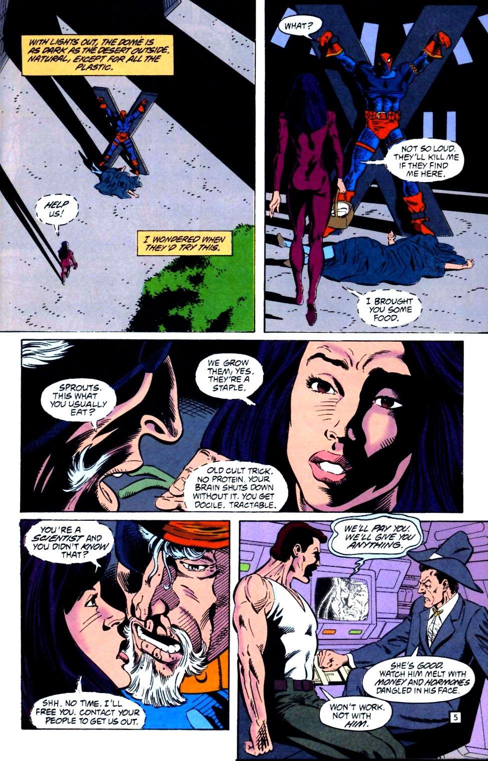 Deathstroke (1991) Issue #25 #30 - English 6