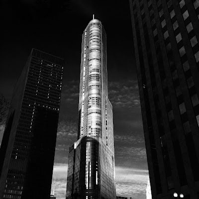 Trump Tower Black White