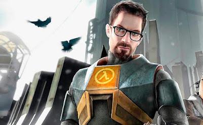 Gordon Freeman, el protagonista de Half Life