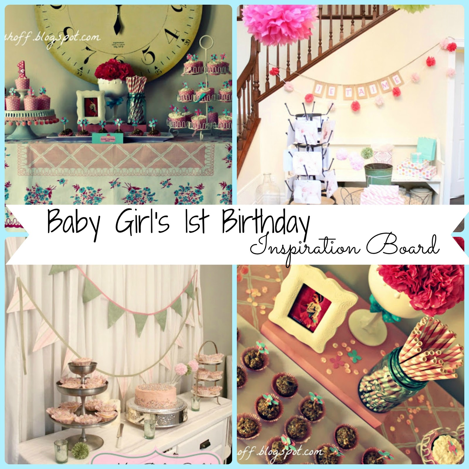 Birthday Themes For Baby Girl First Birthday Image Inspiration
