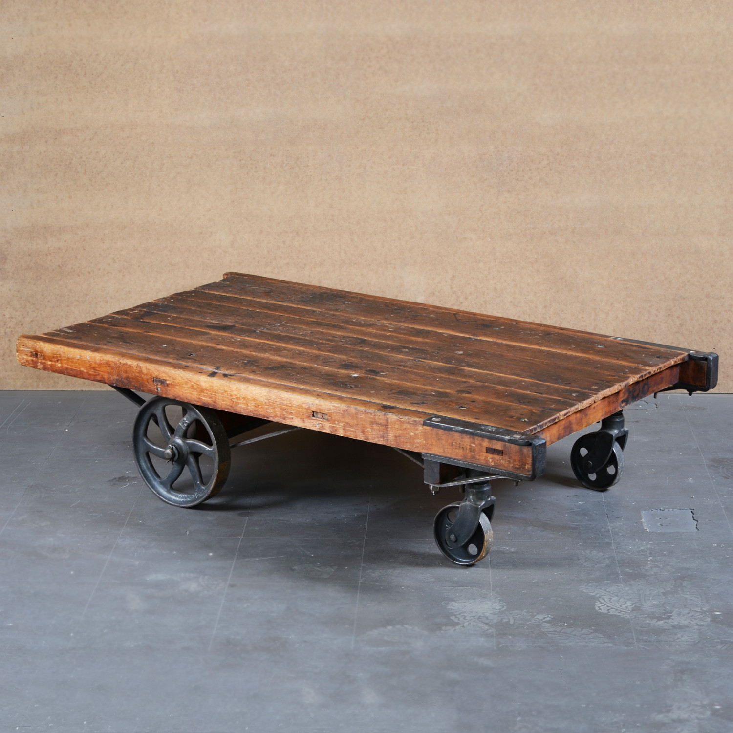 Vintage Factory Cart by Jacob Wener