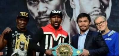 Pertandingan Tinju Abad ini antara Manny Paciauo Vs Floyd Mayweather