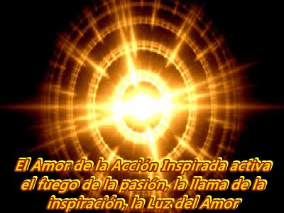 Cuando estableces el Amor en la Acción Inspirada, eliges un nuevo camino.