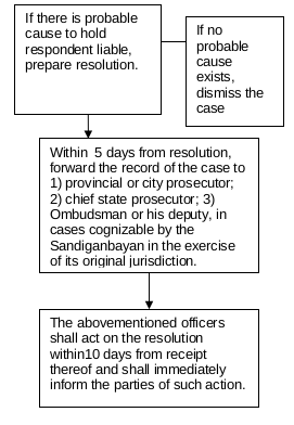 resolution of investigating prosecutor
