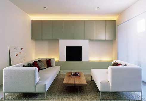 Minimalist living room gambar rumah for Living room design modern minimalist