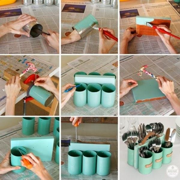 artesanato com latas