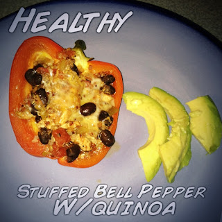 quinoa turkey stuffed peppers