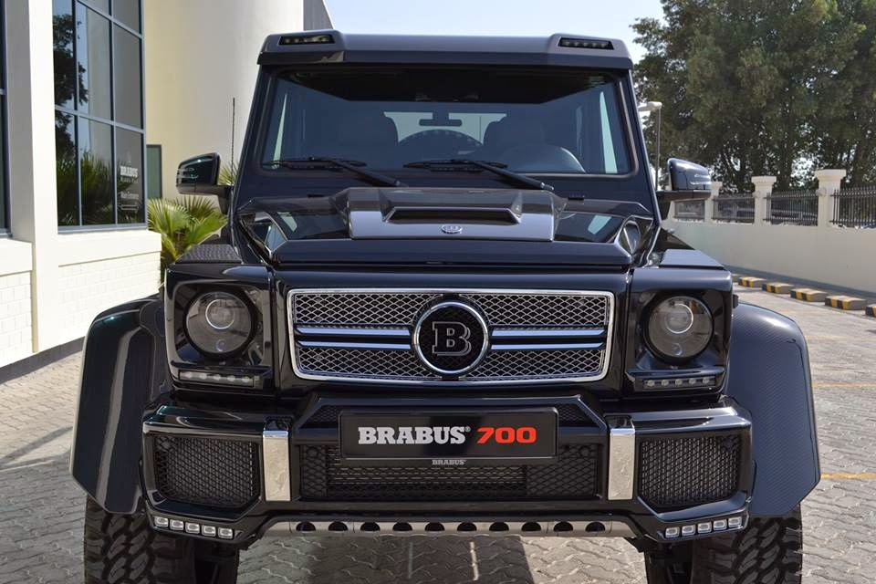 mercedes benz g63 brabus - photo #29
