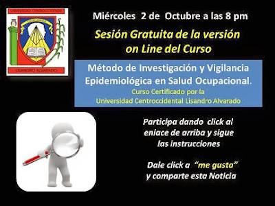 Curso Gratis de Vigilancia Epidemiológica en Salud Ocupacional UCLA