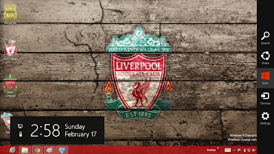 2013 Liverpool Fc Windows 7 And Windows 8 Theme