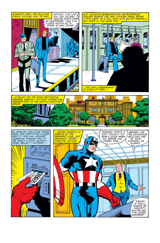 Captain America (1968) Issue #259 #174 - English 5