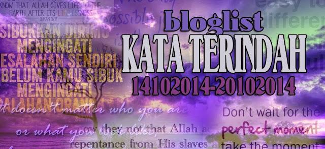 Bloglist Kata Terindah