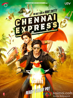 Shahrukh Khan new poster of Chennai Express