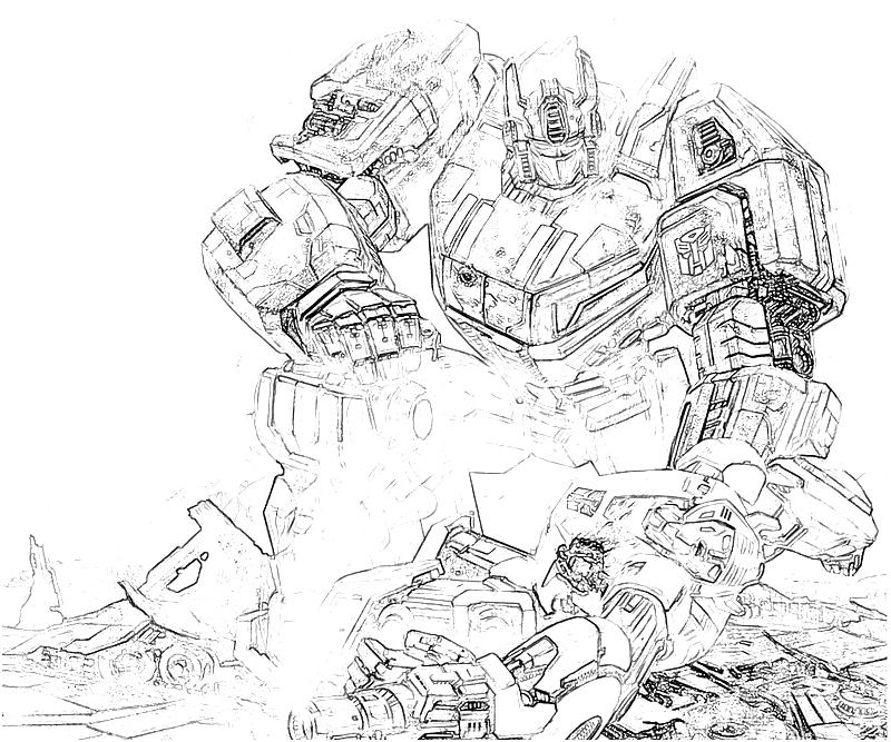 transformer gears coloring pages - photo#39