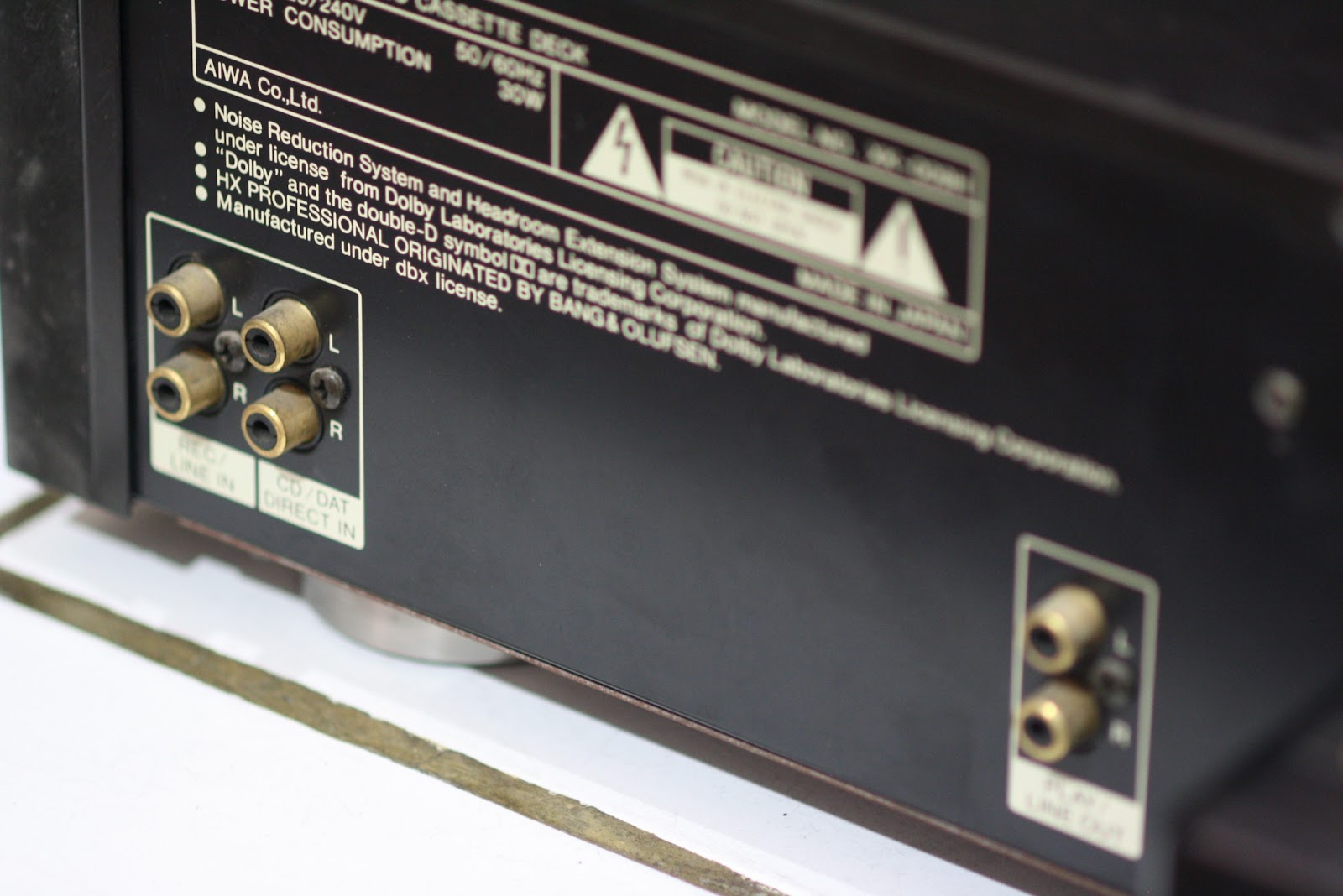 Audio2nd September 2012 Amp Schematic Http Homeproviewcom Ecl82amplifierschematichtm Info From Audio Extasa Aiwa Xk 009 Excelia Cassette Tape Deck In Orig Box Some Technical Data Manufacturer Japan