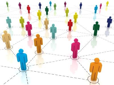 Взаимосвязи между блогерами в Twitter