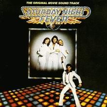 Cover of Saturday Night Fever Soundtrack Album