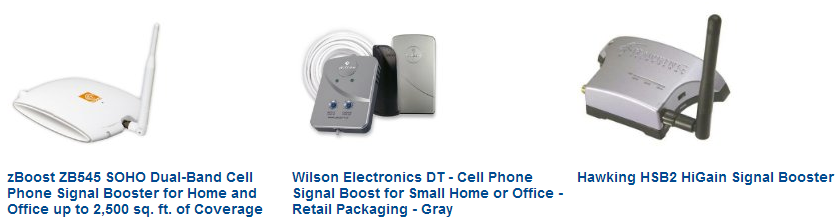 Top Cell Phone Signal Boosters on Amazon.com
