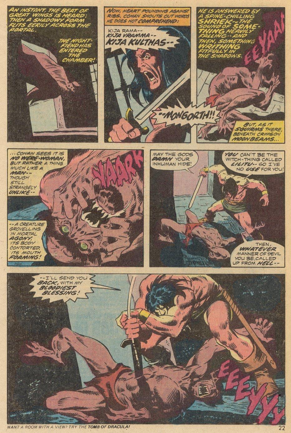 Conan the Barbarian (1970) Issue #38 #50 - English 16