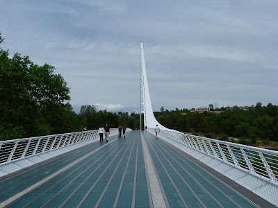 Redding:  Sundial Bridge, Revisited