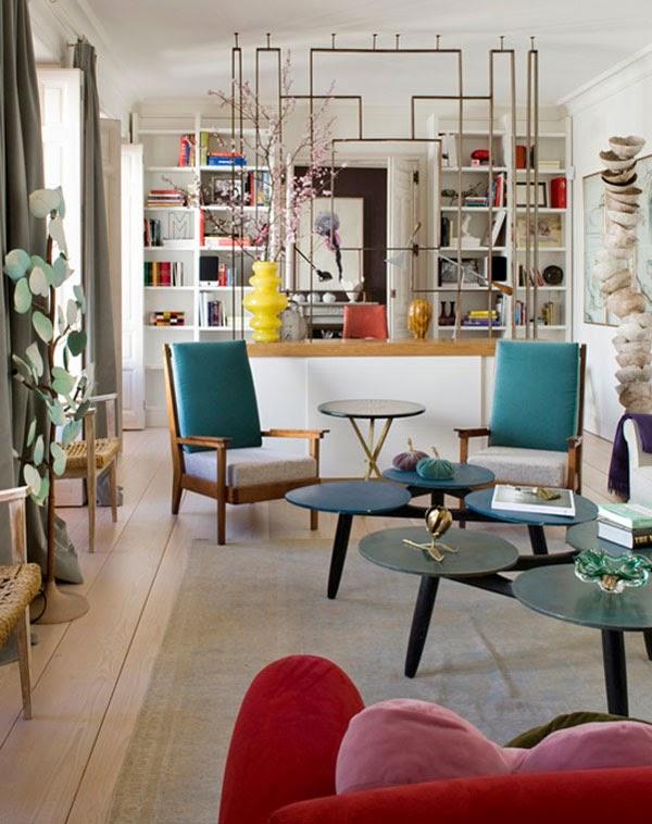 Marta de la Rica Living Room