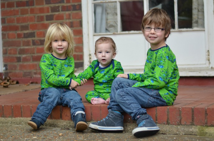 Brothers, Smafolk, three under four, matching brothers