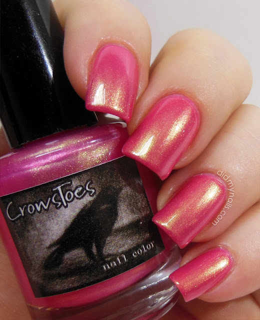 CrowsToes Tequila Sunrise swatch