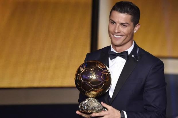Ronaldo Julang Trofi Ballon d'Or Buat Kali Ketiga,  info, terkini, berita sukan, bola sepak, cristiano ronaldo, Trofi Ballon d'Or,