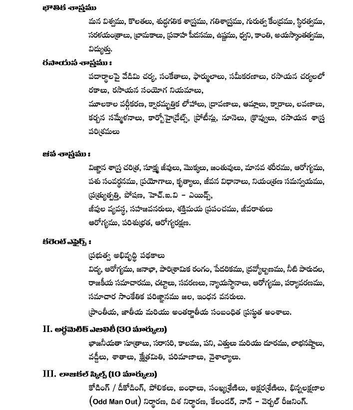 VRO VRA Written Exam Syllabus-2