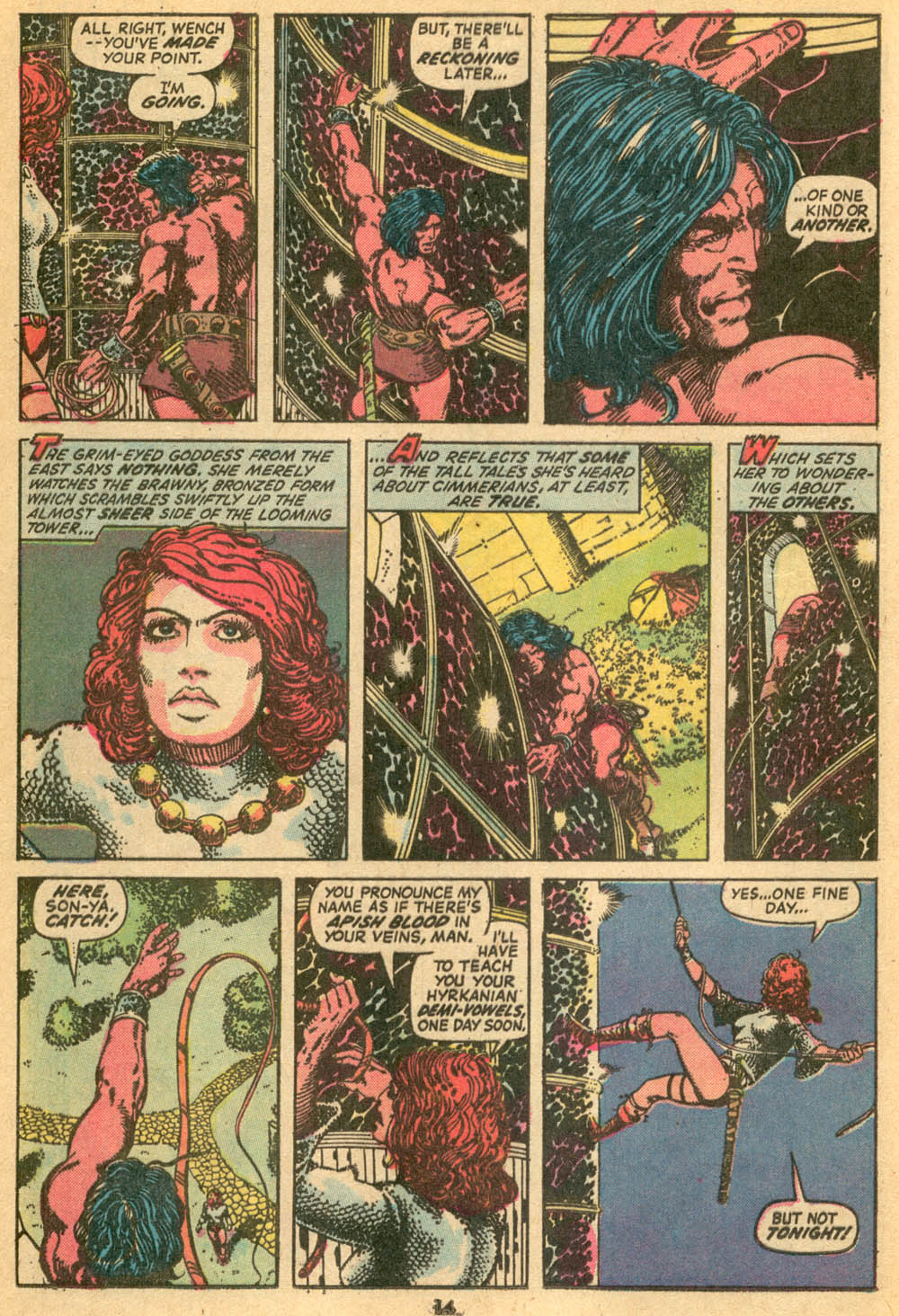 Conan the Barbarian (1970) Issue #24 #36 - English 11