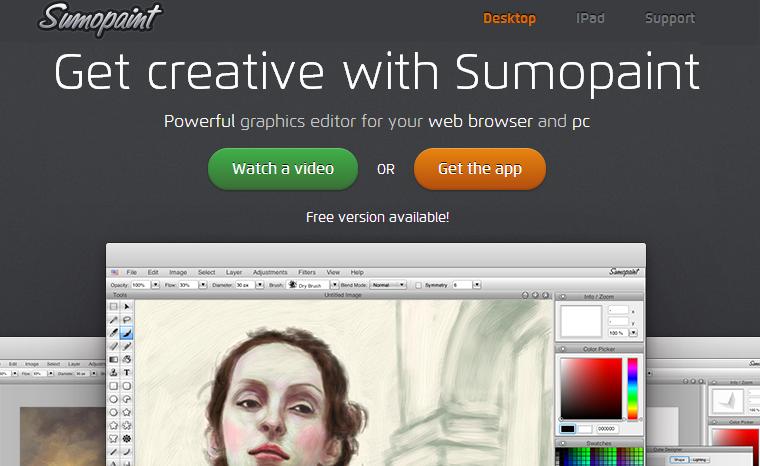 Sumopaint - Get Creative