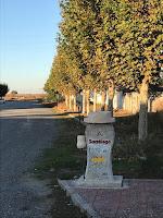 Hito del Camino De Santiago