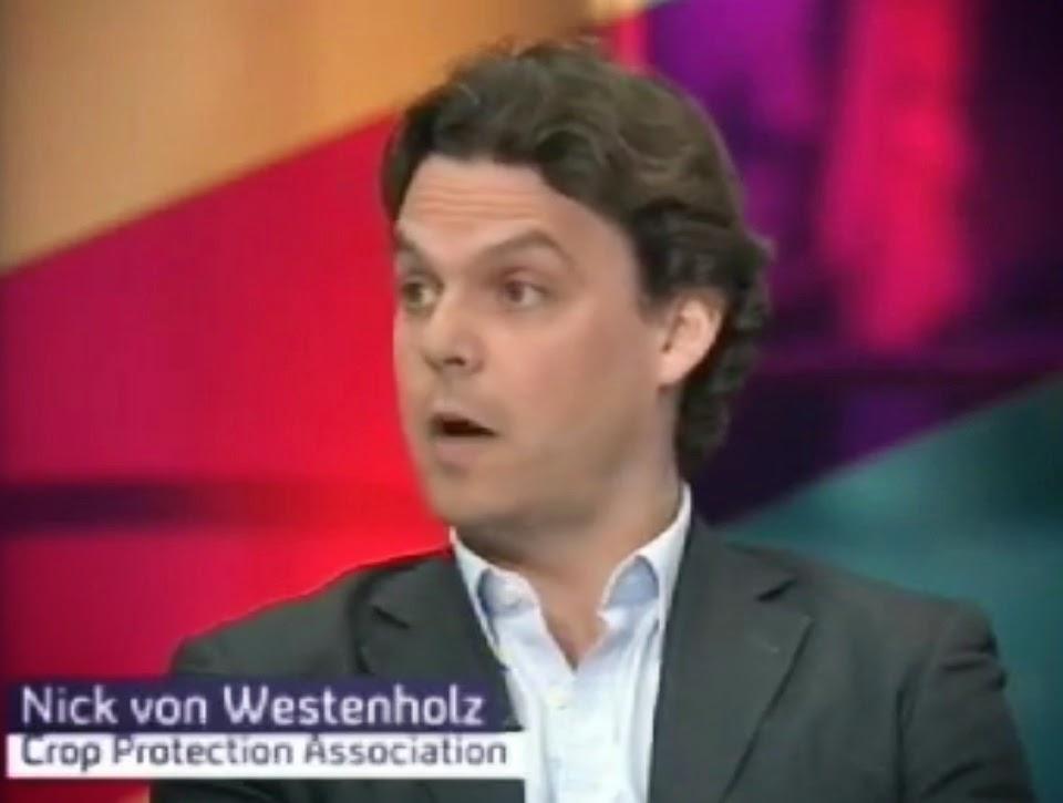 Nick Von Westenholz, UK Crop Protection Association CEO.